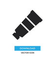 paint tube icon simple sign for web site and vector image vector image