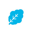 spinach icon colored symbol premium quality vector image vector image