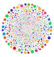 apple swirl motion vector image vector image
