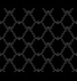 damask and celtic style a repeating pattern vector image