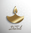 happy diwali light background 2109 vector image vector image