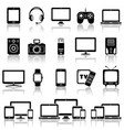set modern digital devices icons set vector image vector image
