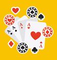 casino game vector image