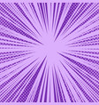 comic book purple bright explosive background vector image