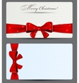 Gift cards with red bow vector | Price: 1 Credit (USD $1)