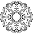 Hand drawn decorative design element vector image vector image