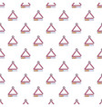 musical triangle pattern seamless vector image vector image