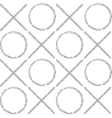 the pattern gray grunge circles and crosses vector image vector image