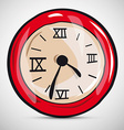 Abstract Alarm Clock vector image vector image