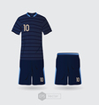 France team uniform 02 vector image vector image