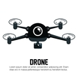 icon drone technology graphic vector image vector image
