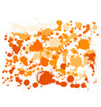 paint stains grunge background vector image