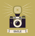 Vintage Camera Poster vector image vector image