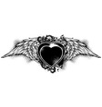 decorative form of heart vector image