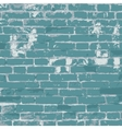 Brick wall template vector image vector image