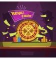 Casino Retro Cartoon vector image vector image