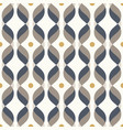 ogee seamless curved pattern abstract vector image vector image