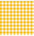 seamless checkered tablecloth traditional gingham vector image vector image
