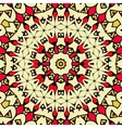 Seamless geometric pattern with abstract ethnic vector image vector image