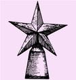 Star award vector image vector image