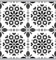 azulejo tiles seamless pattern vector image vector image