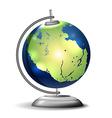 Pangaea school globe vector image vector image