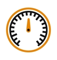 performance measurement cars speed icon vector image vector image