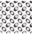 seamless geometric pattern eyes with eggs vector image