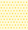 sun seamless pattern background eps vector image vector image