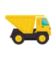 truck dump cargo icon vector image