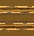 yellow tone circuit futuristic design modern vector image vector image