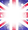 British background abstract England flag vector image