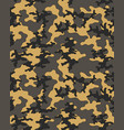 camouflage patternseamless vector image vector image