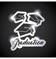 congratulations grad celebration card vector image