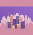 modern cityscape concept vector image