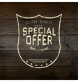 Special offer badges logos and labels for any use vector image