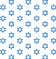 Star of David pattern vector image vector image