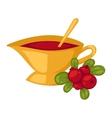 Tea symbol vector image vector image