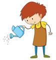 Watering vector image vector image