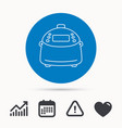 Multicooker icon kitchen electric device symbol