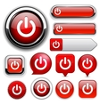 Power high-detailed web button collection vector | Price: 1 Credit (USD $1)