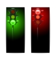 Traffic Lights Banners vector image