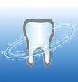 dental health care symbol icon vector image vector image