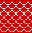 seamless pattern on red background vector image vector image