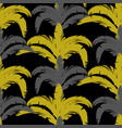 tropical seamless pattern with bushes in three vector image vector image