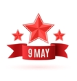 May 9 Victory day background vector image