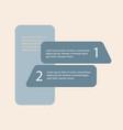 5 steps of modern arrow infografics template for