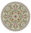 Chinese circular pattern vector image
