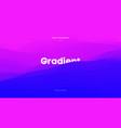 cover design holographic background digital fluid vector image
