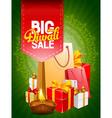 Diwali poster vector image vector image